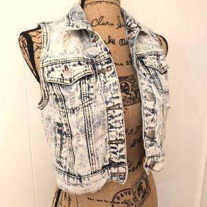 Make an offer!! Med. Blue Jean Vest